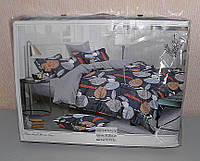 Комплект постельного белья полуторный мягкий Classic сатин (F-570)