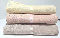 Махровое банное полотенце Турция 136*65см баня