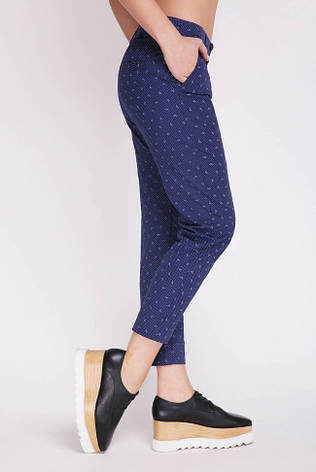 Короткі жіночі сині штани, фото 2