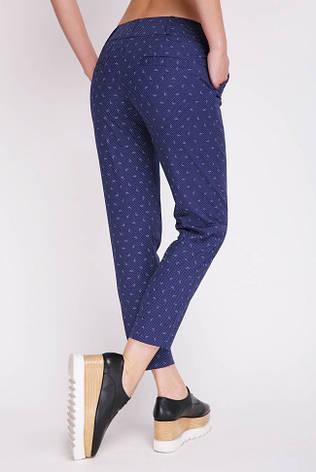 Короткие женские синие брюки, фото 2