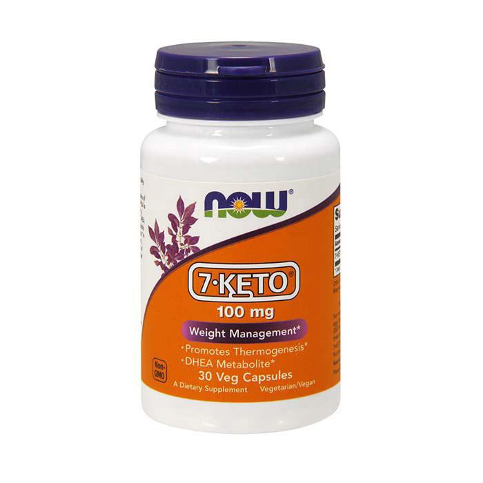 Дегидроэпиандростеронн 7 Кето Now Foods 7-KETO 100 mg (30 veg caps)