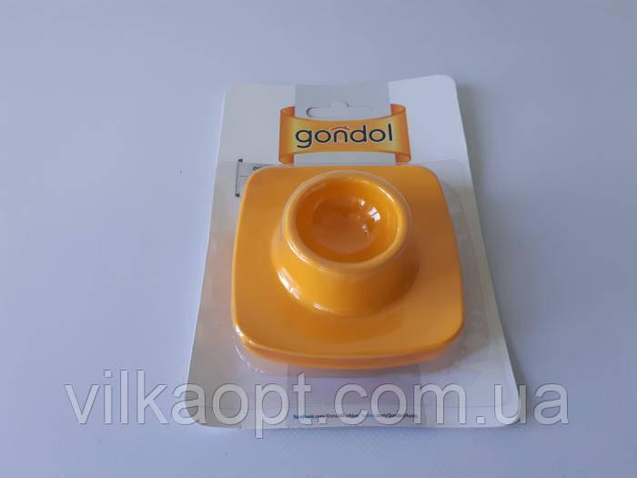 Подставка под яйцо в наборе их 2-х квадратная G-217 d 5cm