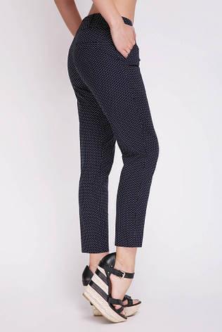 Жіночі брюки батал на літо сині SUMMER-BATAL, фото 2
