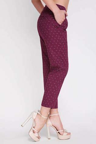 Женские укороченные брюки на лето большие размеры SUMMER-BATAL, фото 2