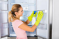 Тщательная очистка холодильника