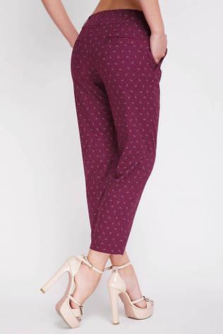 Жіночі укорочені штани на літо великі розміри SUMMER-BATAL 54, фото 2