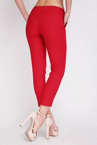 Красные женские брюки большого размера летние SUMMER-BATAL 52 56 52 56, фото 2