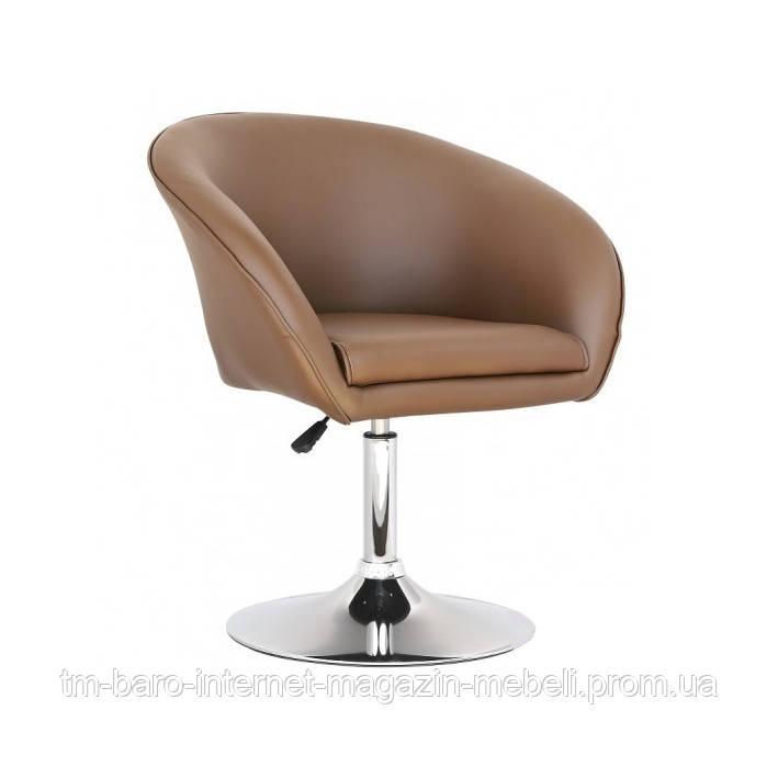 Кресло Мурат, коричневый кожзам