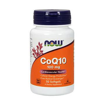 CoQ10 100 mg (50 softgels) NOW