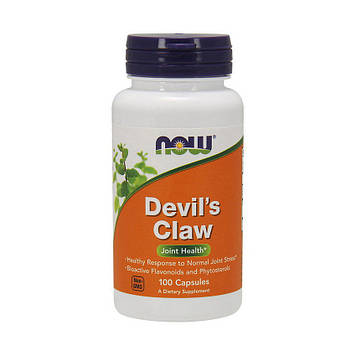 Экстракт корня дьявольского когтя (Мартиния душистая) Now Foods Devil`s Claw (100 caps)
