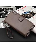 Мужской кошелек клатч портмоне Baellerry коричневый