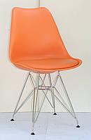 Стул Milan Chrom, оранжевый