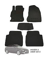 Коврики в салон Mazda 6 2008-2012 (5 шт.) Garda PP 4 SX 3D