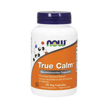 Витамины для мозга и нервной системы Now Foods True Calm Amino Relaxer 90 veg caps