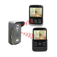 Беспроводный влагозащитный видеодомофон 2-мя экранами (модель Kivos KDB301х2)