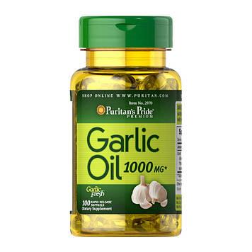 Garlic Oil 1000 mg (100 softgels) Puritan's Pride