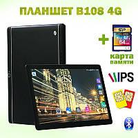 """Игровой Планшет B108 4G 10.1"""" IPS 2 GB RAM 16 GB ROM GPS + Карта памяти 64GB, фото 1"""