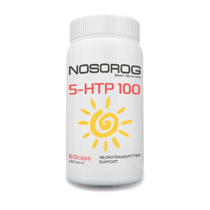 Гидрокситриптофан 5-HTP Носорог / Nosorog Nutrition 100 мг 60 капсул