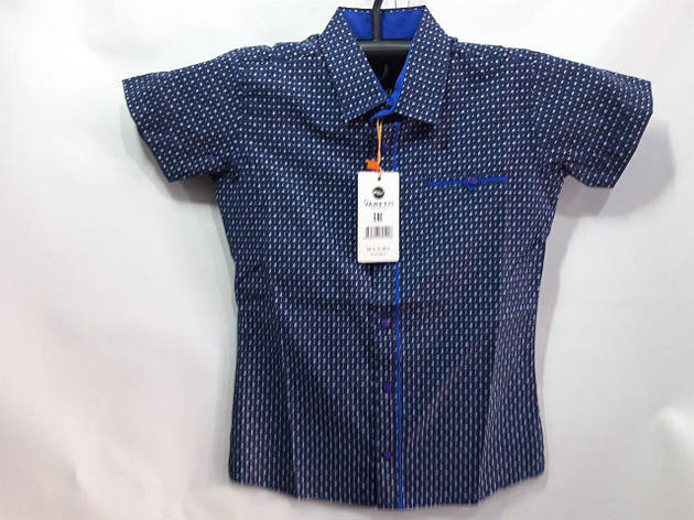 Детская рубашка для мальчика  7-12 лет опт, фото 2