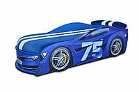Кровать машина Бмв Турбо 75 синяя, фото 1