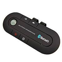 ☞Громкая связь для автомобиля Lesko Car Kit Bluetooth Hands Free микрофон Multi Point функция записи