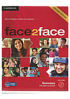 Face2face 2nd ed Elementary Student's Book with DVD-ROM
