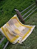 Ліжник, коврик з натуральної овечої шерсті на ліжко, підлогу, фото 2