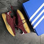Чоловічі кросівки Adidas Kamanda (бордові), фото 6