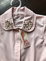 Нарядная блуза для девочки  122,128,134 размер