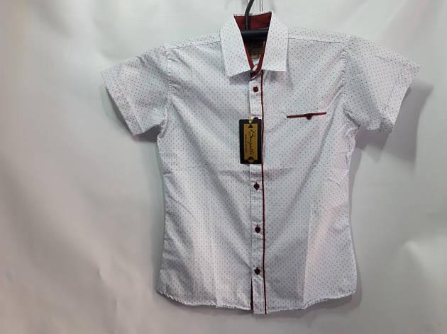 Детская рубашка для мальчика в школу р. 7-12 лет опт, фото 2