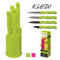 """Ножи кухонные на подставке """"Klein"""" 5пр/наб МН0819"""