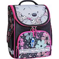 Рюкзак школьный каркасный с фонариками Bagland Успех 12л (5513 черный 406)