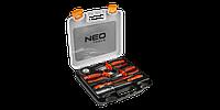 Набор инструментов диэлектрических. 1000 В. 7 шт. 01-305 NEO TOOLS