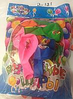 Воздушные шарики для праздников цветные с рисунком мультяшных героев