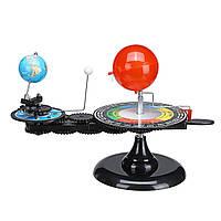 Модель солнечной системы телурий телурій теллурий (Сонце-Земля-Луна) 3 вида качества