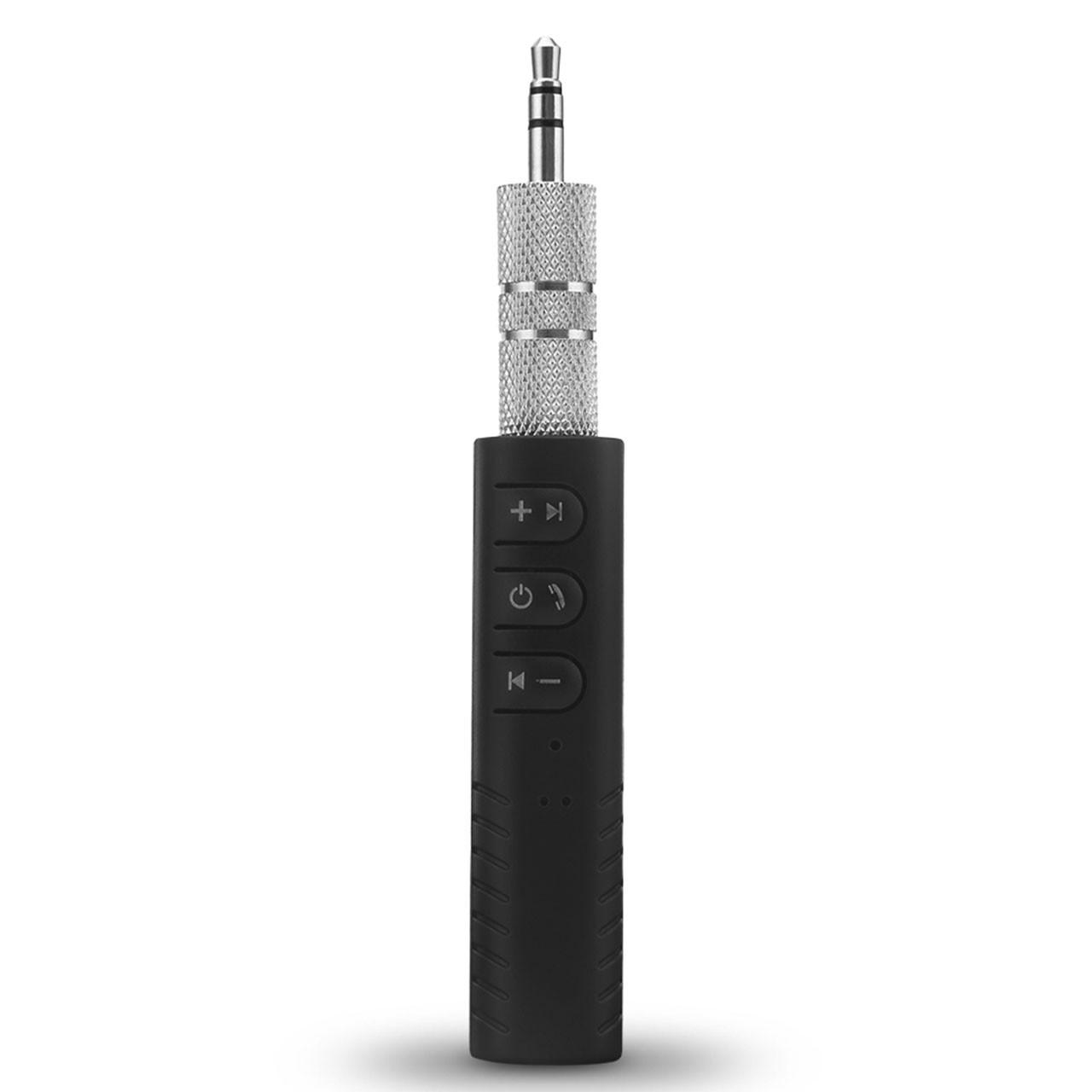 ➚Блютуз адаптер Lesko BT-801 автомобильный Bluetooth 4.1 адаптер с аудиовходом AUX jack 3.5 mini беспроводной