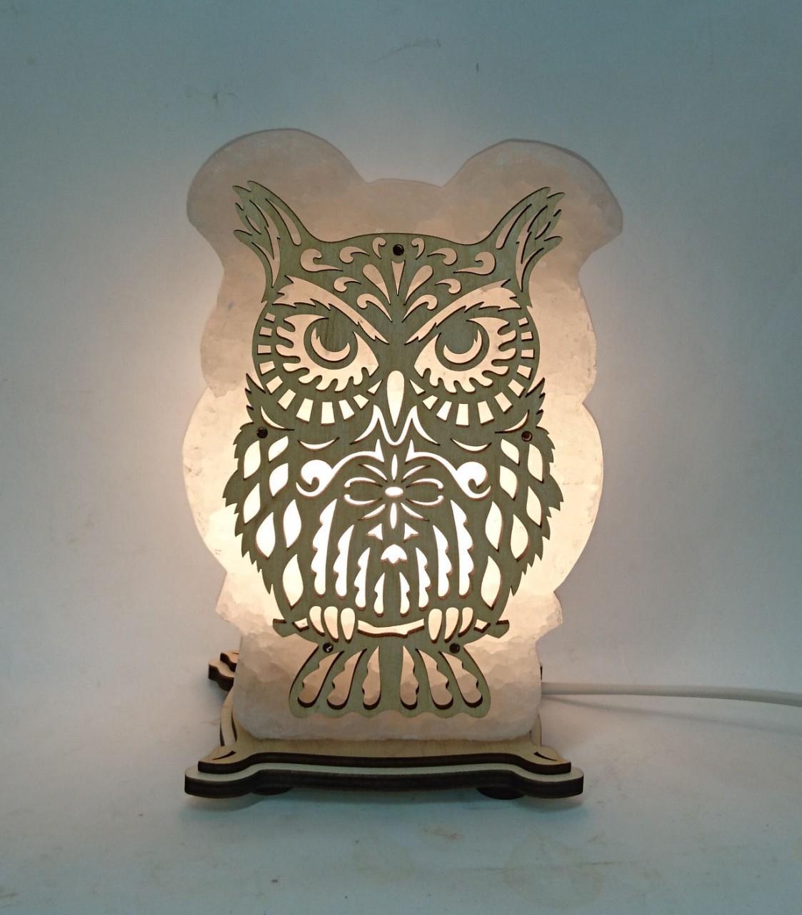 Соляна лампа Сова велика