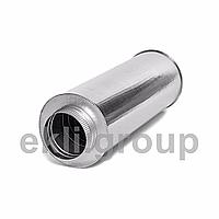 Димохідна труба з нержавіючої сталі AISI 304 в оцинкованому кожусі товщина сталі 0,8мм довжина 0.25м діаметр внутрішній 230 зовнішній 330