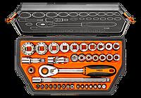 """Набор головок 1/2"""". 38 ед. 08-630  NEO Tools"""