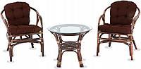 Комплект меблів на балкон. Столик + 2 крісла
