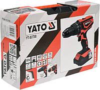 Аккумуляторная ударная дрель - шуруповерт YT-82788 Yato