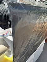 Пленка полиэтиленовая черная вторичная 3*100м 90 мкм (рукав 1,5*100м) Ника-Пласт