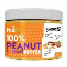 Натуральне арахісове масло OstroVit Peanut Butter + Sesame (500 g)