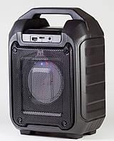 Bluetooth портативная колонка чемодан B310 (BL,USB,SD,FM, AUX),сеть/акк, светомузыка