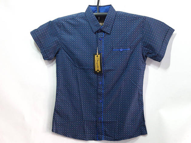 Школьная рубашка для мальчика р. 7-12 лет опт, фото 2