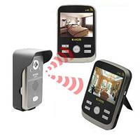 Беспроводный влагозащитный видеодомофон с 2-мя экранами (модель Kivos KDB300х2), фото 1