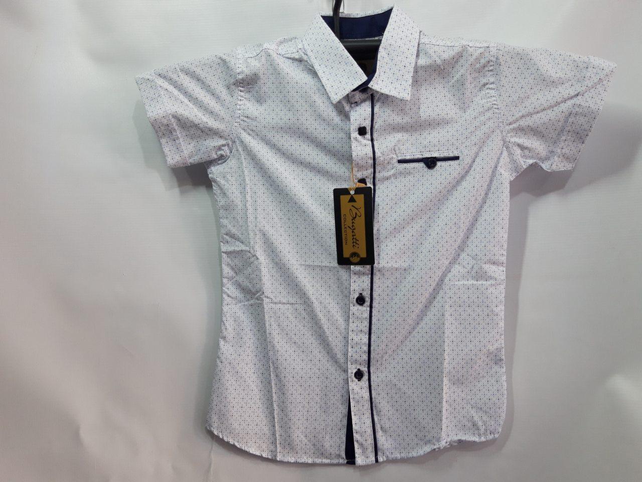 Рубашка для мальчика р. 7-12 лет опт