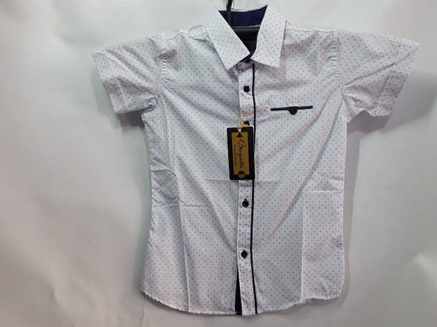 Рубашка для мальчика р. 7-12 лет опт, фото 2