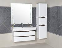 Комплект навесной мебели для ванной комнаты ТМ Аква Родос Венеция 100