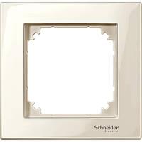 Рамка на 1 пост M-Plan Merten (бежевый) Schneider Electric